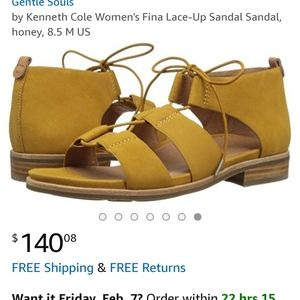 Kenneth Cole lace-up sandals